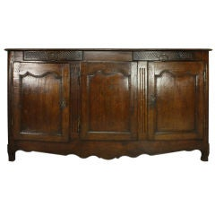 Early French Oak Enfilade, Two Drawers