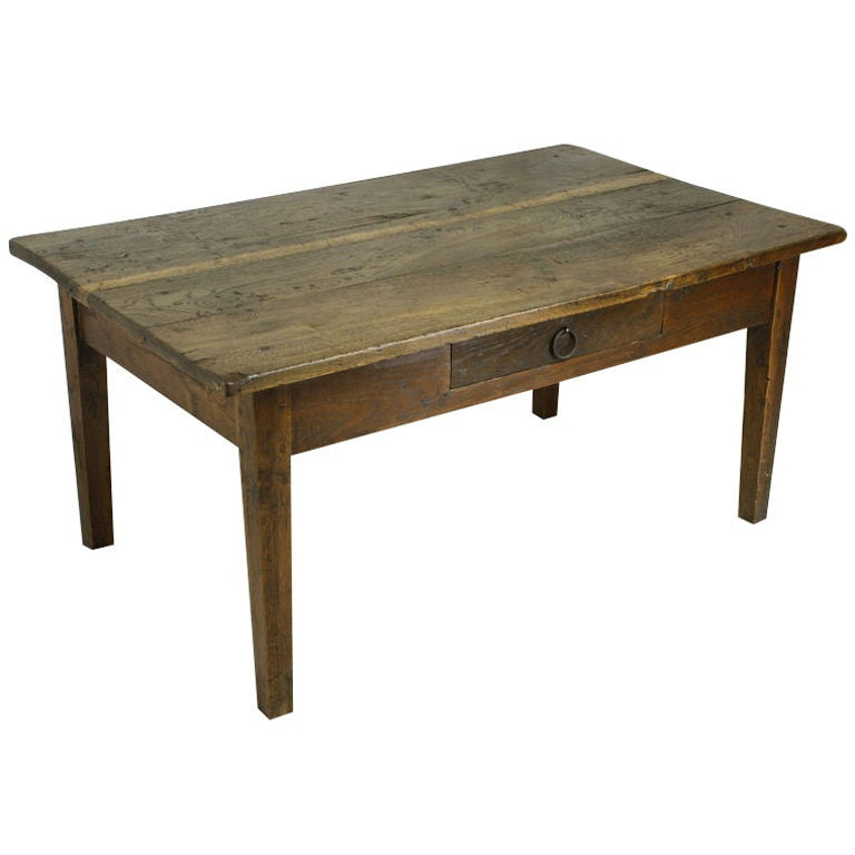 Antique French Walnut Coffee Table At 1stdibs