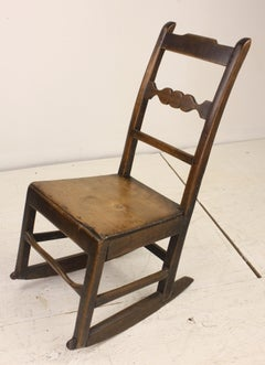 Antique English Rocking Chair