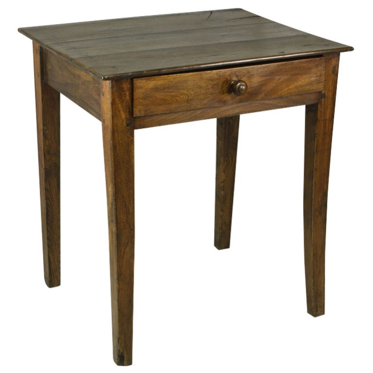 small antique french cherry side table at 1stdibs