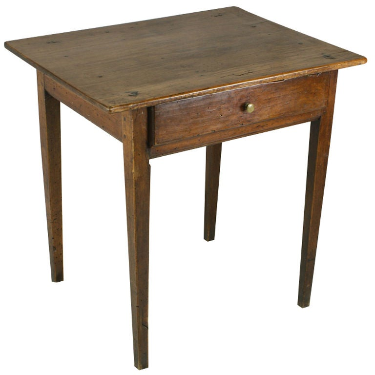 Small french antique cherry side table at 1stdibs for Cherry side table