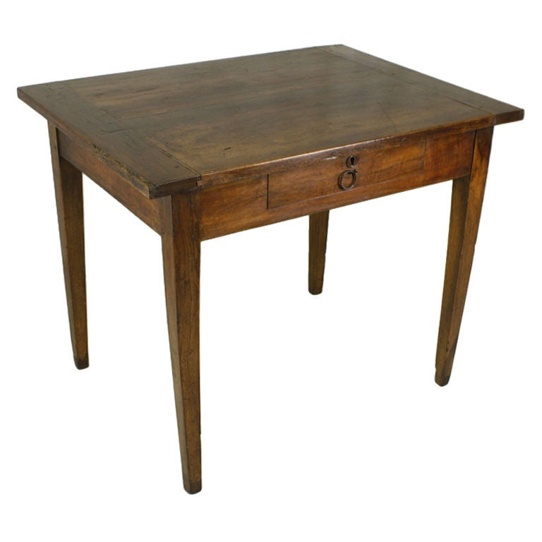 Delightful Antique French Country Small Writing Table 1