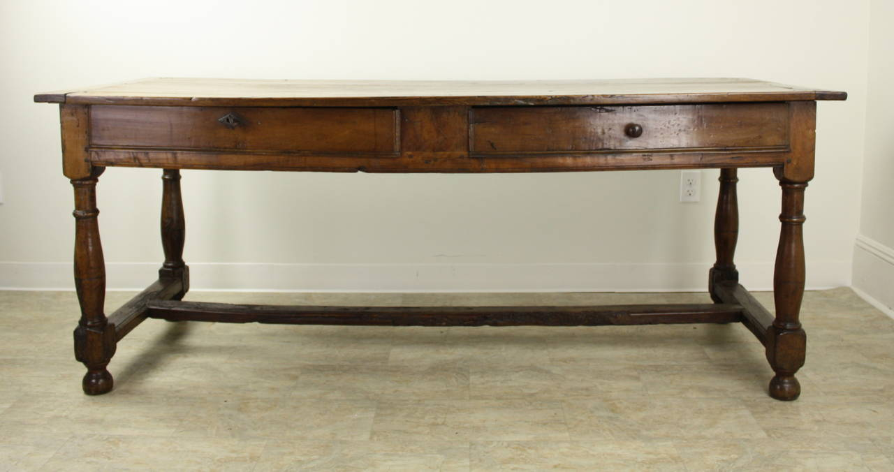 French Antique 17th Century Louis Xiii Cherry Dining Table