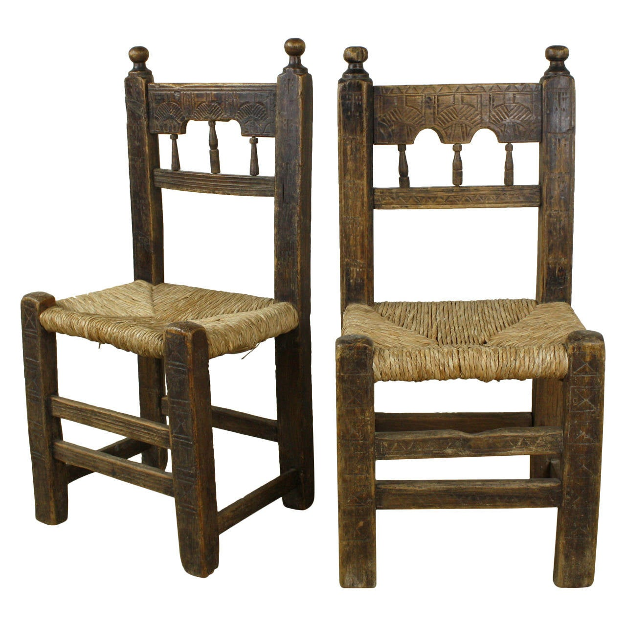 Antique 17th Century Spanish Chairs at 1stdibs - 17th Century Spanish Chairs At 1stdibs