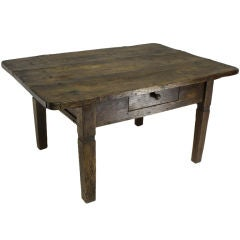 Small Rustic Antique Coffee Table