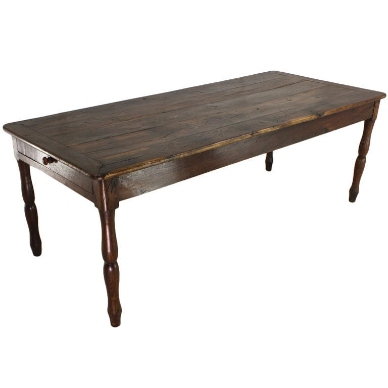 Long Antique French Walnut Dining Table at 1stdibs : XXX791013198149091 from www.1stdibs.com size 768 x 768 jpeg 32kB