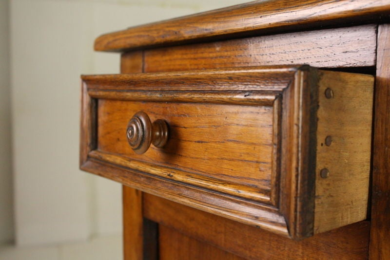 Handsome Antique French Chestnut Cabinet At 1stdibs