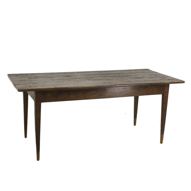 Antique French Oak Farmhouse Table At 1stdibs