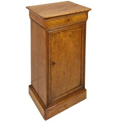 Antique French Burr Ash Small End Table