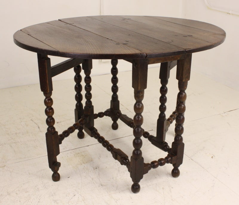 Antique English Oak Period Gateleg Table At Stdibs - Antique gateleg tables