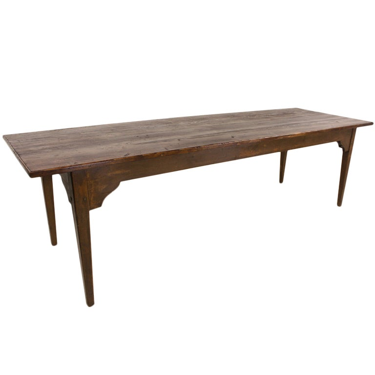 Long Antique French Pine Farm Table at 1stdibs : XXX791013366686481 from www.1stdibs.com size 768 x 768 jpeg 25kB