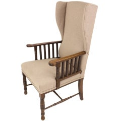 Arts & Crafts English Armchair Designed by William Birch