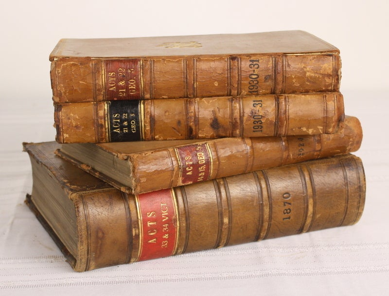 Collection laws books Foto