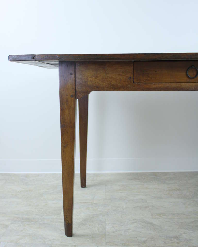 large antique french cherry farm table at 1stdibs