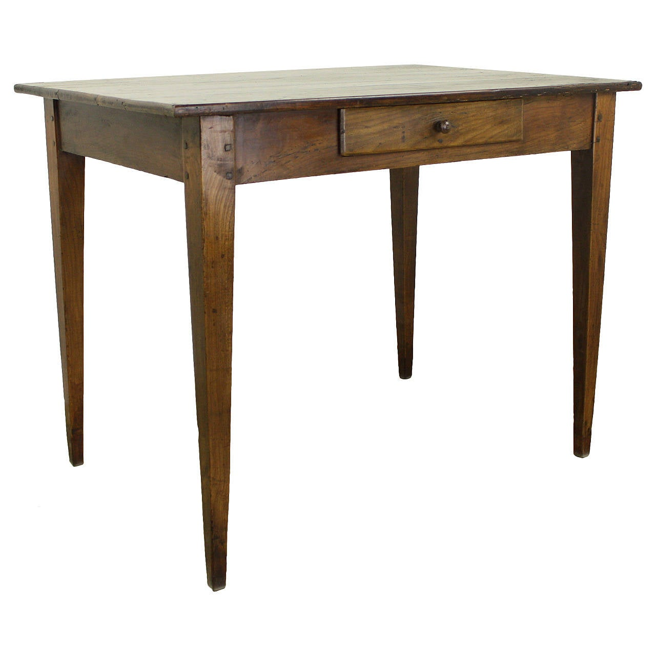 Antique dark cherry writing or side table at 1stdibs for Cherry side table