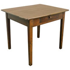 Antique Oak Writing Table