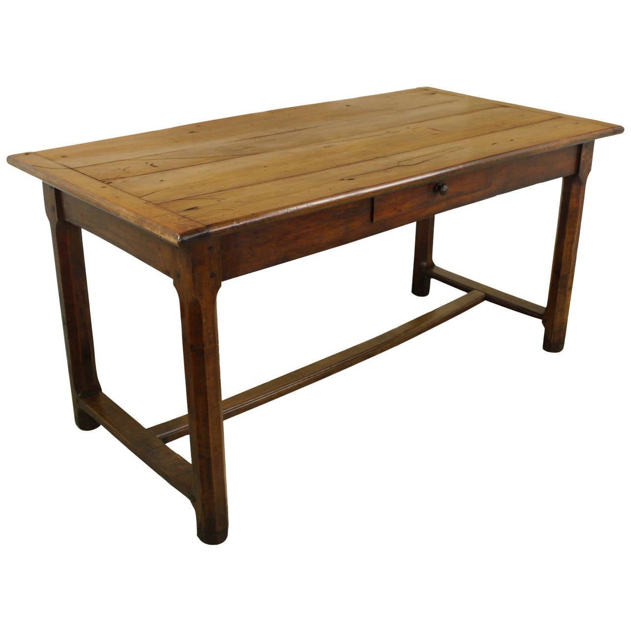 Antique Cherry Writing Table At 1stdibs