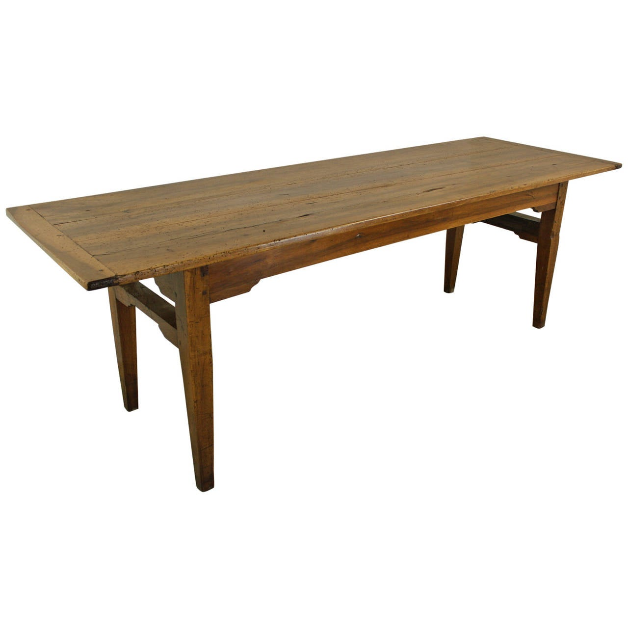 Antique walnut farm table at 1stdibs for 1 1 table