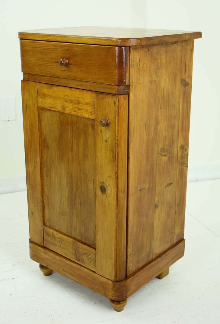 Continental Kitchen Cabinets Pair Of Antique Continental Pine Nightstands At 1stdibs
