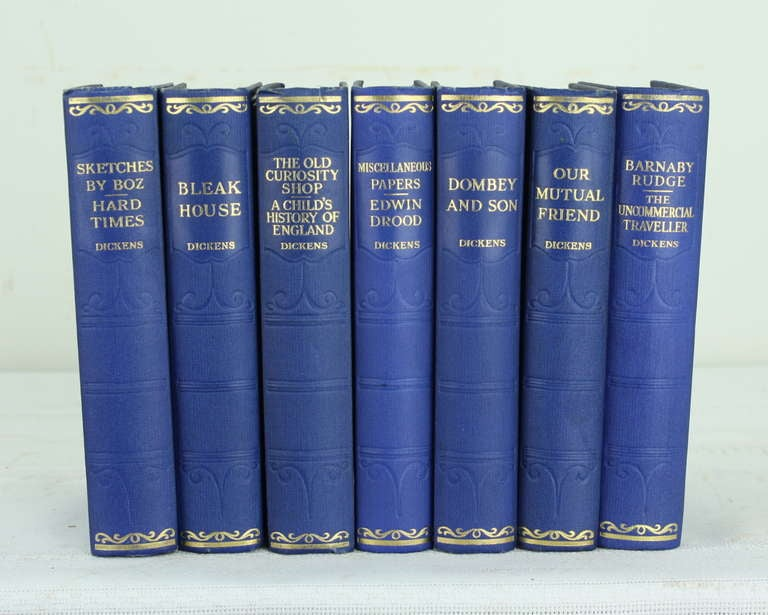 Seven Volumes by Charles Dickens, 1930 3