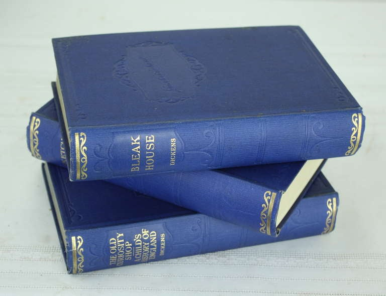 Seven Volumes by Charles Dickens, 1930 4