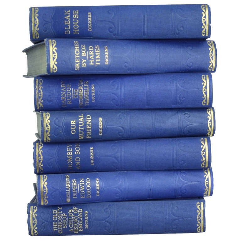 Seven Volumes by Charles Dickens, 1930 1
