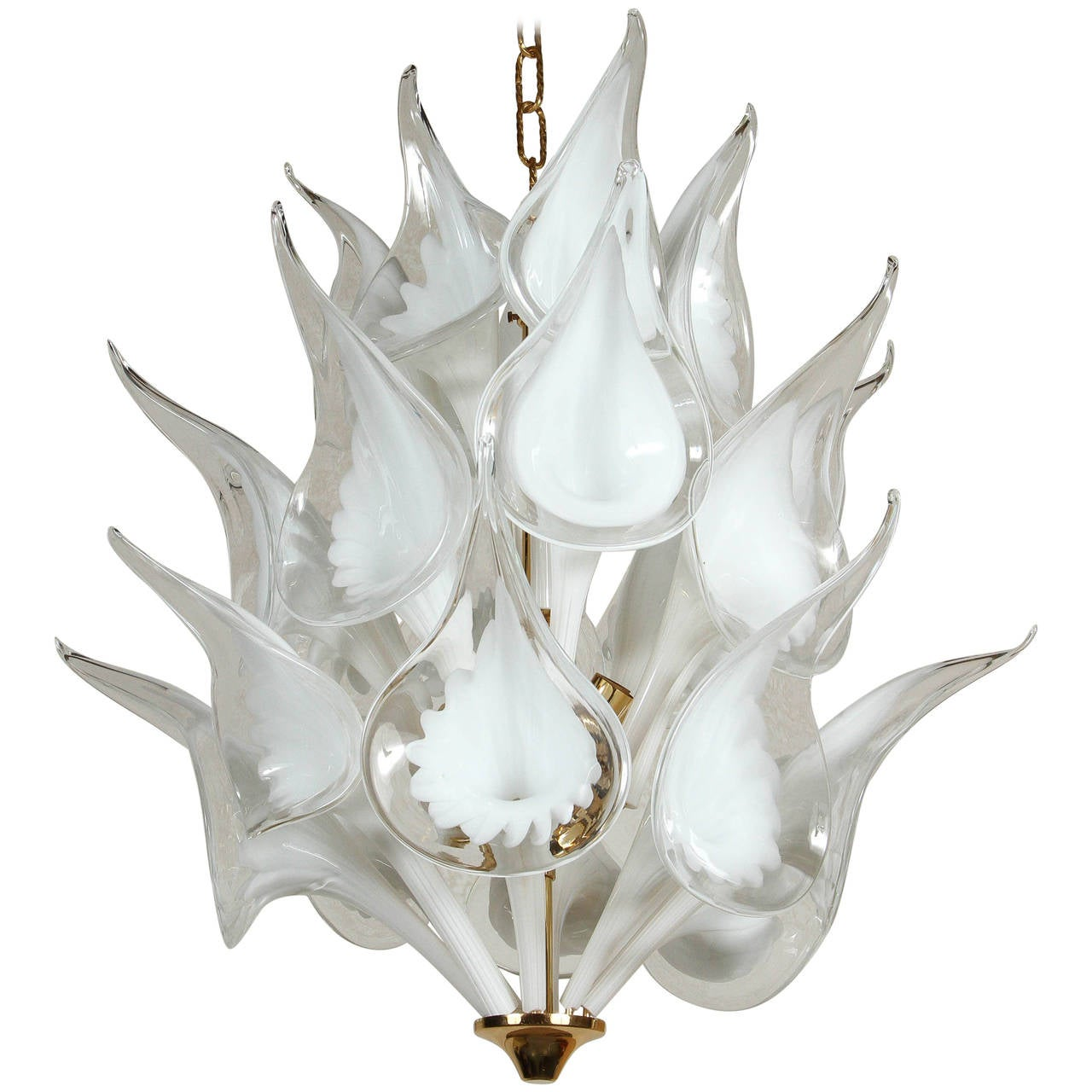 Superieur Calla Lily Chandelier By Camer For Sale