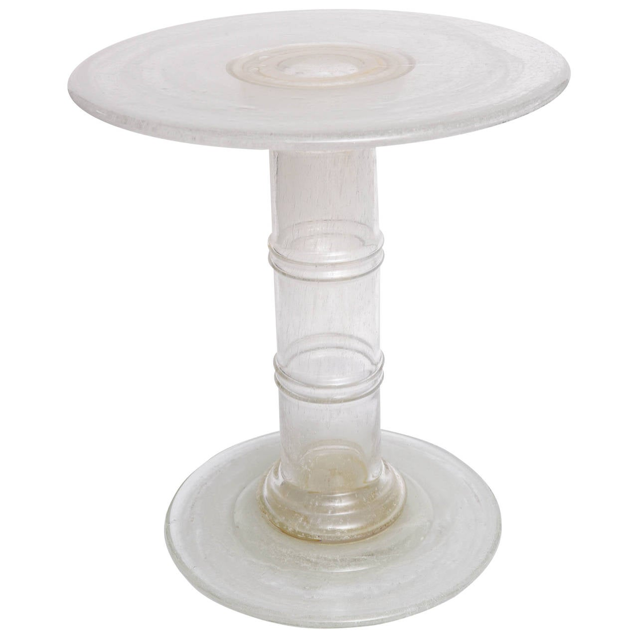 Venetian Glass End Table At 1stdibs