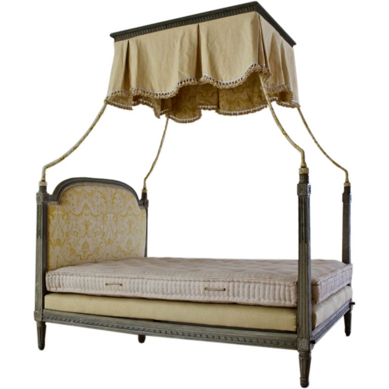 Louis Xvi Style Canopy Bed At 1stdibs