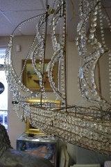 Italian Crystal Ship Chandelier image 7