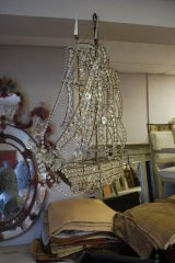 Italian Crystal Ship Chandelier image 9