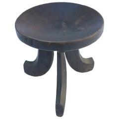 Round African Stool