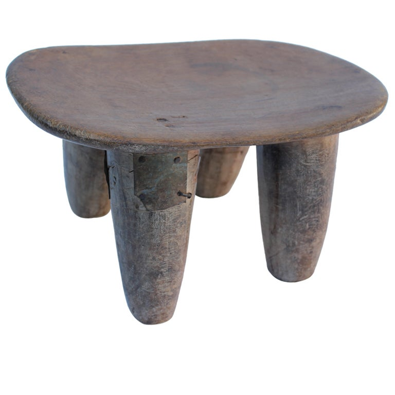 African Stool 2 At 1stdibs