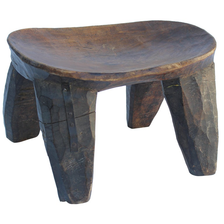 African Stool 1 at 1stdibs