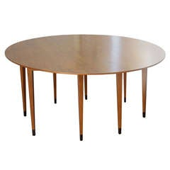 Edward Wormley for Dunbar Oval Dining Table