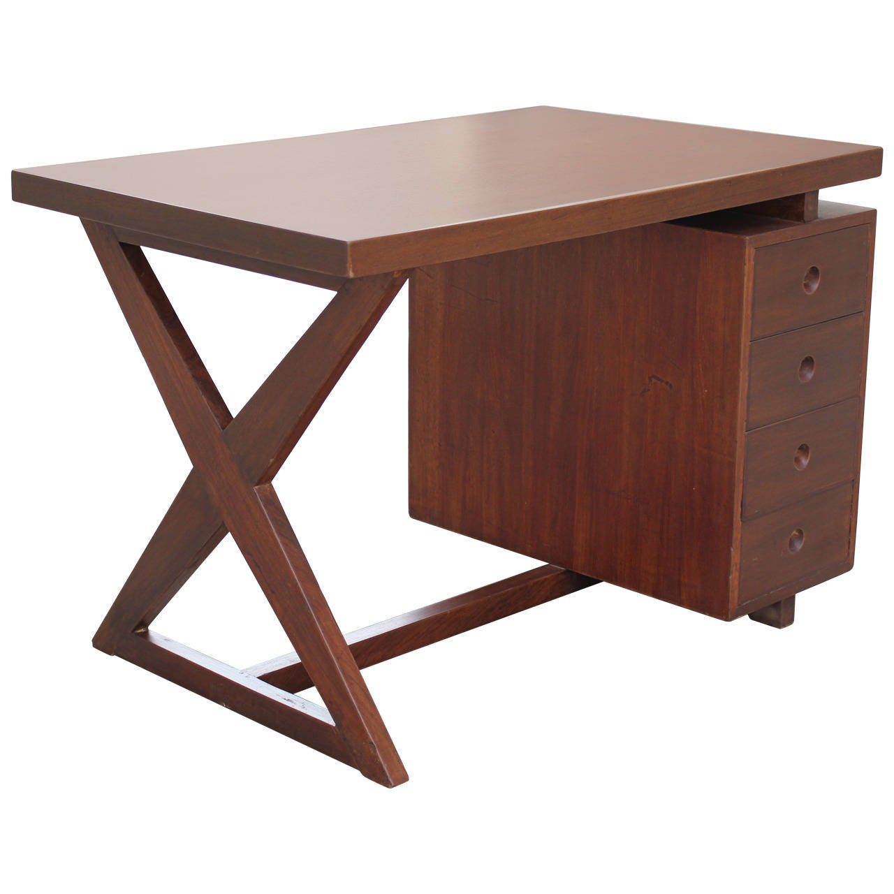 Pierre Jeanneret Bureau of Administration Desk For Sale