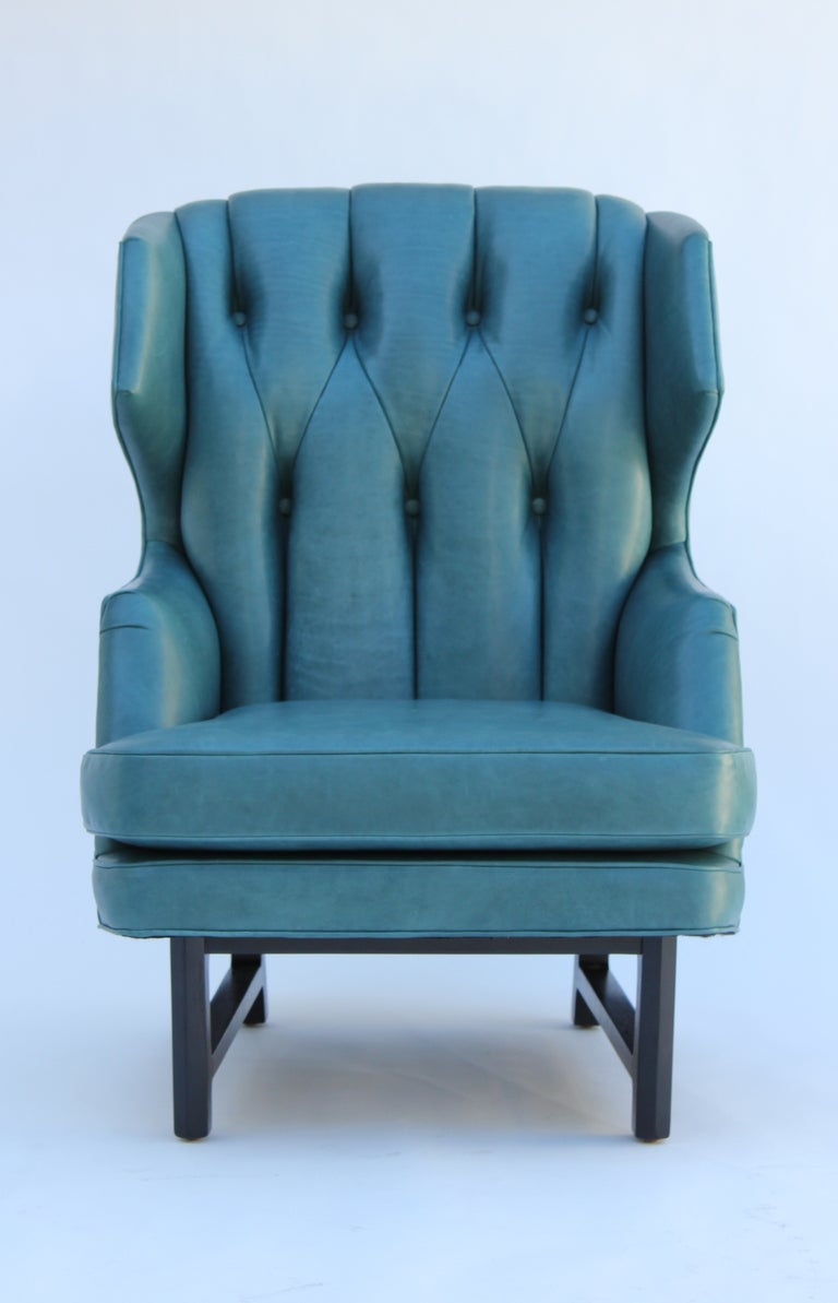 Janus wing chair by edward wormley for dunbar at 1stdibs - Edward wormley chairs ...