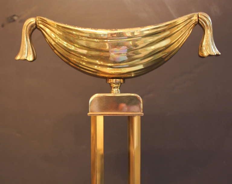 Italian Pair of Fontana Arte Lamps For Sale