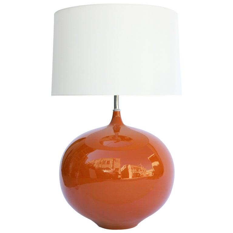 Large 70's Ceramic Lamp