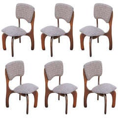 Set of Six Don Shoemaker Chairs