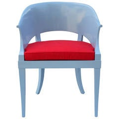 Lacquered Side Chair