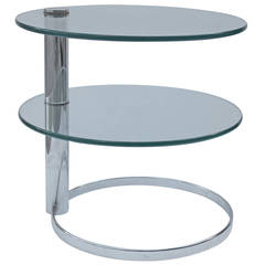 Pace Collection Two-Tier Side Table