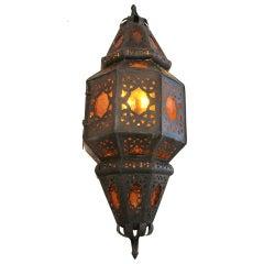 Large Vintage Mexican Lantern