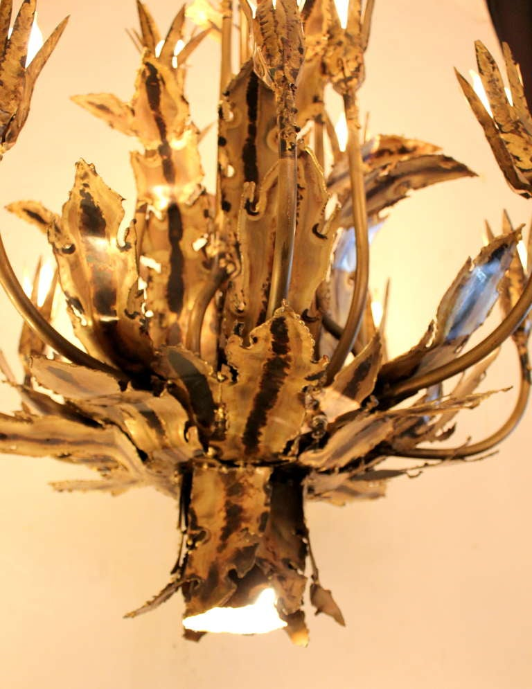 Tom Greene Brutal Chandelier In Excellent Condition For Sale In Los Angeles, CA