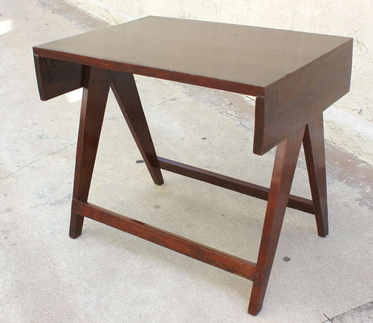 Indian Pierre Jeanneret Chandigarh Student Desk For Sale