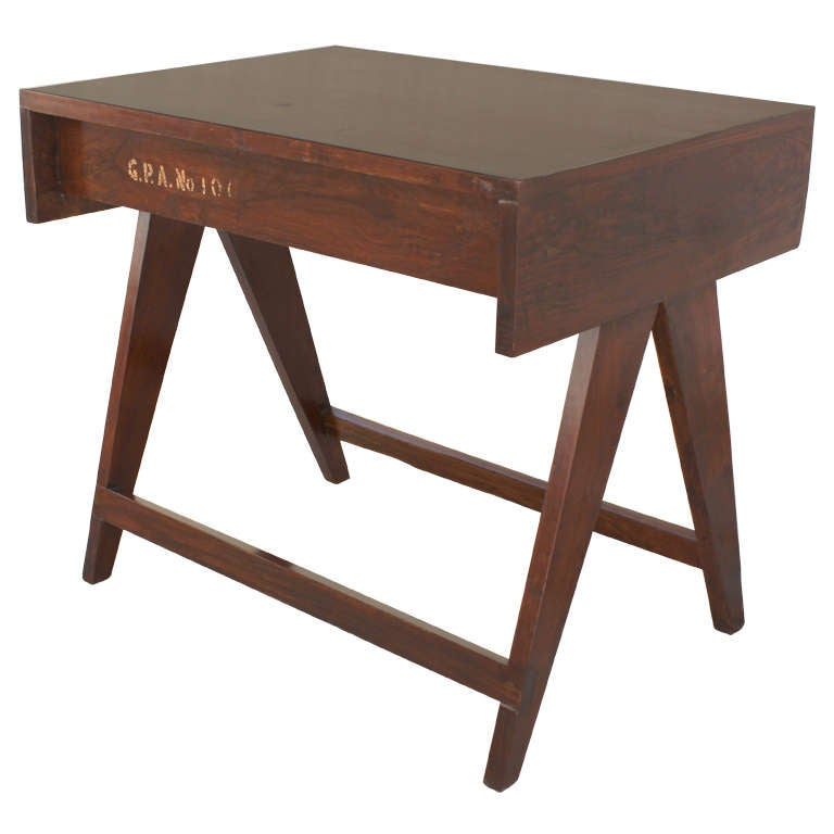 Pierre Jeanneret Chandigarh Student Desk For Sale