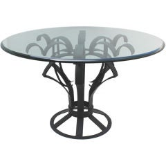 Arturo Pani Iron Focal Table
