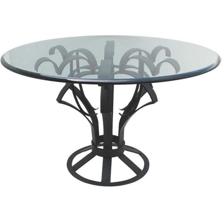 Arturo Pani Iron Focal Table
