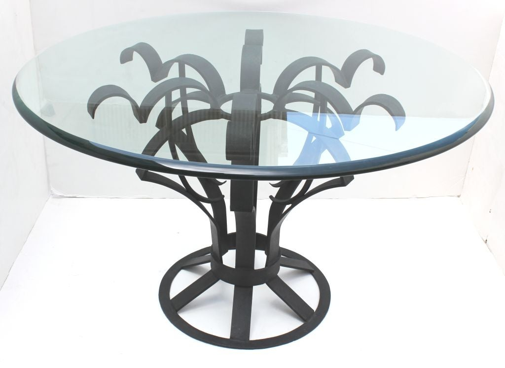 Arturo Pani Iron Focal Table 2