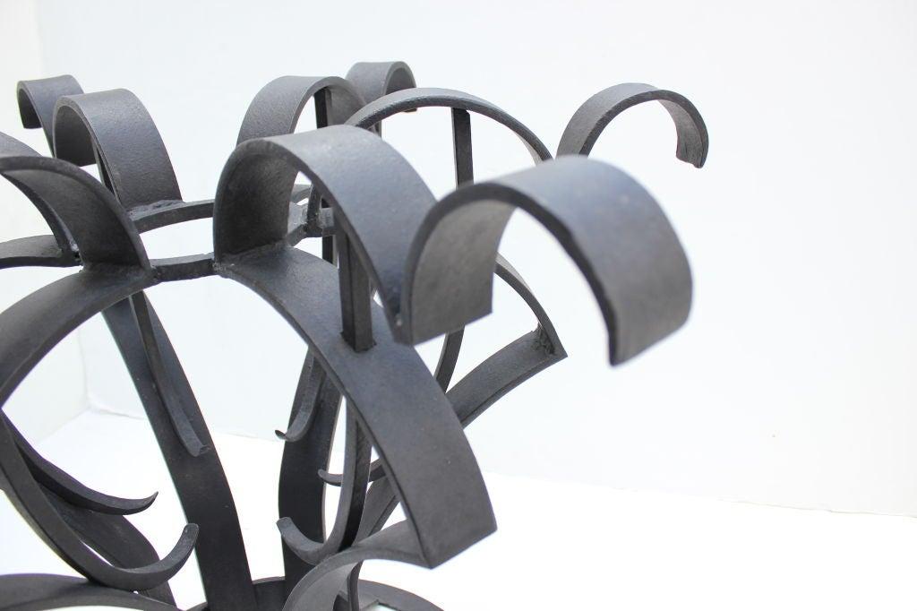 Arturo Pani Iron Focal Table 4